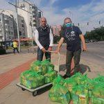 """Дариха храни на нуждаещи се семейства в """"Тракия"""""""