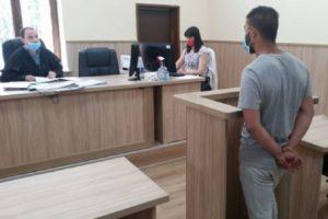 Живко Русев се изправи пред съда. Кадър: бТВ
