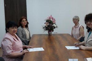 Галина Арнаудова подписа акт за встъпване в длъжност