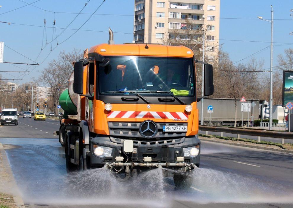 Къде ще мият улиците на Пловдив