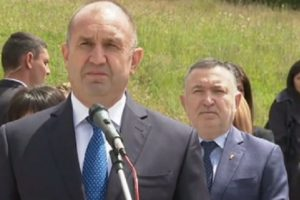 Румен Радев изнесе слово пред паметника на Ботев в Калофер