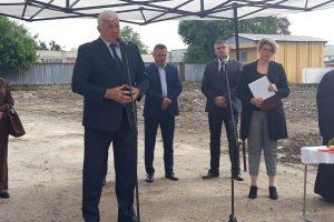 """Кметът даде старт на изграждането на новата детска градина на ул. """"Богомил"""""""