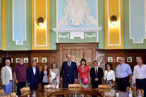 Срещата на кмета с ректорите на пловдивските вузове.