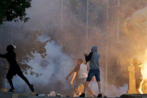 Протести в Сърбия, снимка: ЕПА/БГНЕС