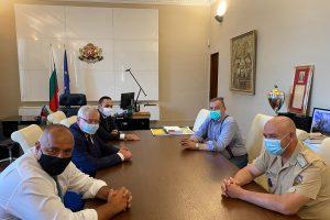 Борисов се срещна с Националния оперативен щаб
