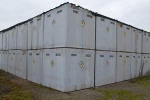 ББ кубове за съхранение на пестициди