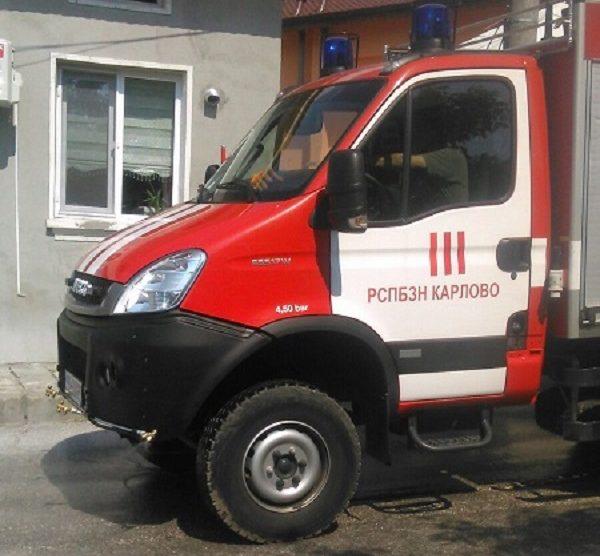 Пожарна кола, Карлово