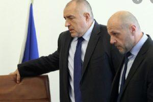 Бойко Борисов и Томислав Дончев