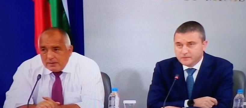 Бойко Борисов и Владислав Горанов