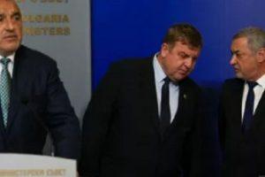 Борисов, Каракачанов и Симеонов вече се разбраха за кадровите промени в кабинета