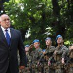 Премиерът Борисов посрещна строя на Специалните сили в Пловдив.