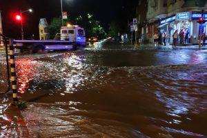 София под вода тази нощ Снимка: Нова