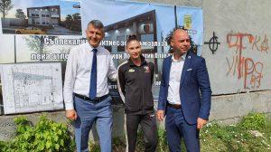 Георги Титюков и Костадин Димитров присъстваха на първата копка.