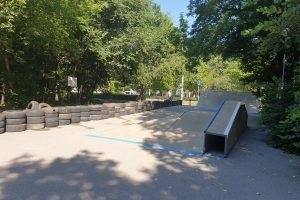 Площадката на скейтборд на Лаута