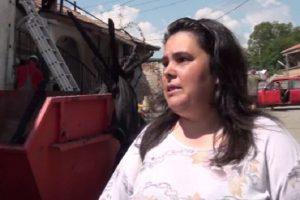 Всичко ни отиде, казва майката Стоянка Енкова, снимка: БНТ