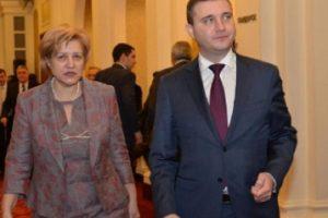 Менда Стоянова и Владислав Горанов