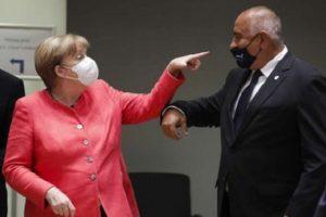 Ангела Меркел направи забележка на Бойко Борисов за маската