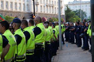 Протестите снощи са минали без ексцесии.