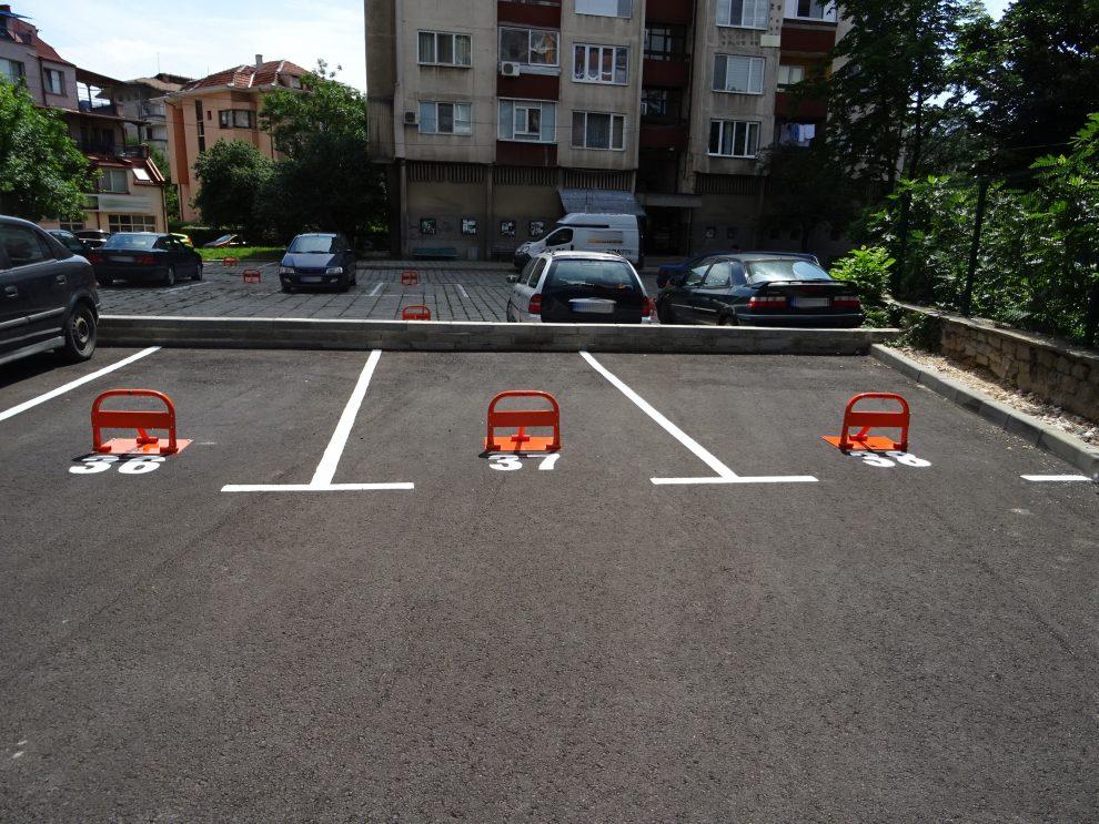 """Новият паркинг в район """"Северен"""""""