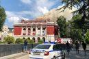 Пожарът в операта в Русе. Снимка: БНР