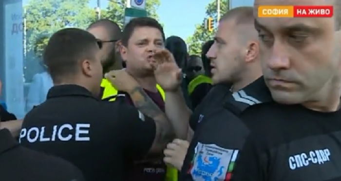 Петър Кърджилов беше арестуван, кадър bTV