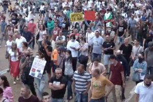 Хиляди по улиците на София
