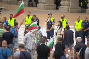 Протестът в София