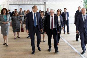 Румен Радев проведе работна среща с посланиците на държавите-членки от ЕС и Швейцария