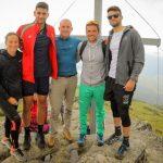 Президентът Радев с именити наши спортисти на Белмекен.
