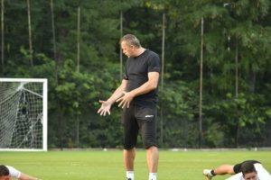 Първа тренировка на Локомотив Пловдив