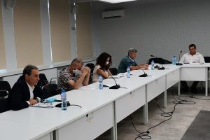 Проф. Пламен Моллов на годишното отчетно събрание на Бизнес университетската асоциация в хранителната индустрия и туризма.