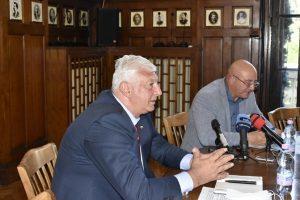 Министър Емил Димитров се срещна с кмета на Пловдив Здравко Димитров