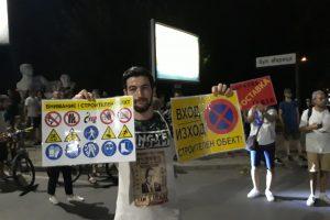 Даниел Михайлов, едно от лицата на протестите в Пловдив