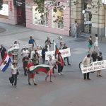 Протестиращите дефилираха по Главната на Пловдив.