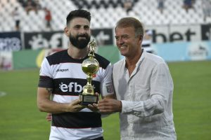 Награждаването на Димитър Илиев