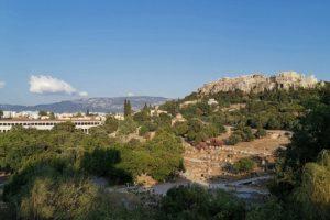 Гледка към Акропола