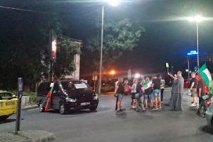 За час и половина снощи кръговото на Водната палата в Пловдив остана затворено