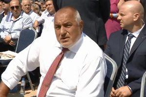 """Борисов бе посрещнат със скандирания """"Бойко, Бойко"""""""