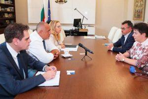 """Бойко Борисов се срещна с представители на обединение """"Бъдеще за туризма"""""""