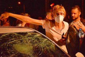 Елена Мицева в нощта на инцидента