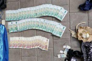 Открити у измамниците пари