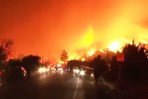 Огънят в Калифорния