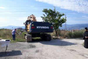 Строителството на локалните платна на пътя за Асеновград започна.