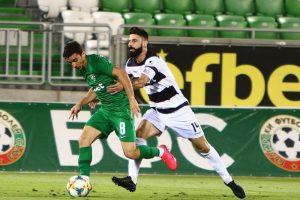 Димитър Илиев отново стана герой на мача за Локомотив Пд