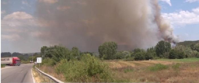 В Хасковско бе обявено бедствено положение