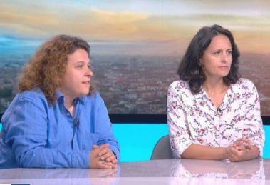 Полина Паунова и Генка Шикерова. Кадър: бТВ