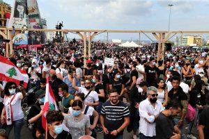 Протестът в Бейрут
