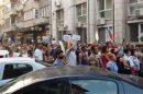"""Протестиращите се спряха пред сградата на Областната дирекция на полицията и започнаха да викат """"Оставка"""""""
