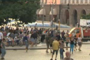 Ден 53 на протеста в София.