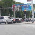 """На бул. """"Васил Априлов"""" колите са затапили и трите платна"""